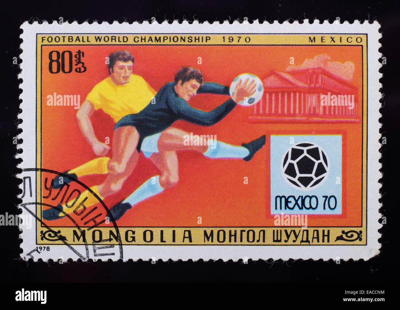 Briefmarken 2 Briefmarken Sowjetunion Cccp 1981 Sport Fußball Diskus Jugoslawien