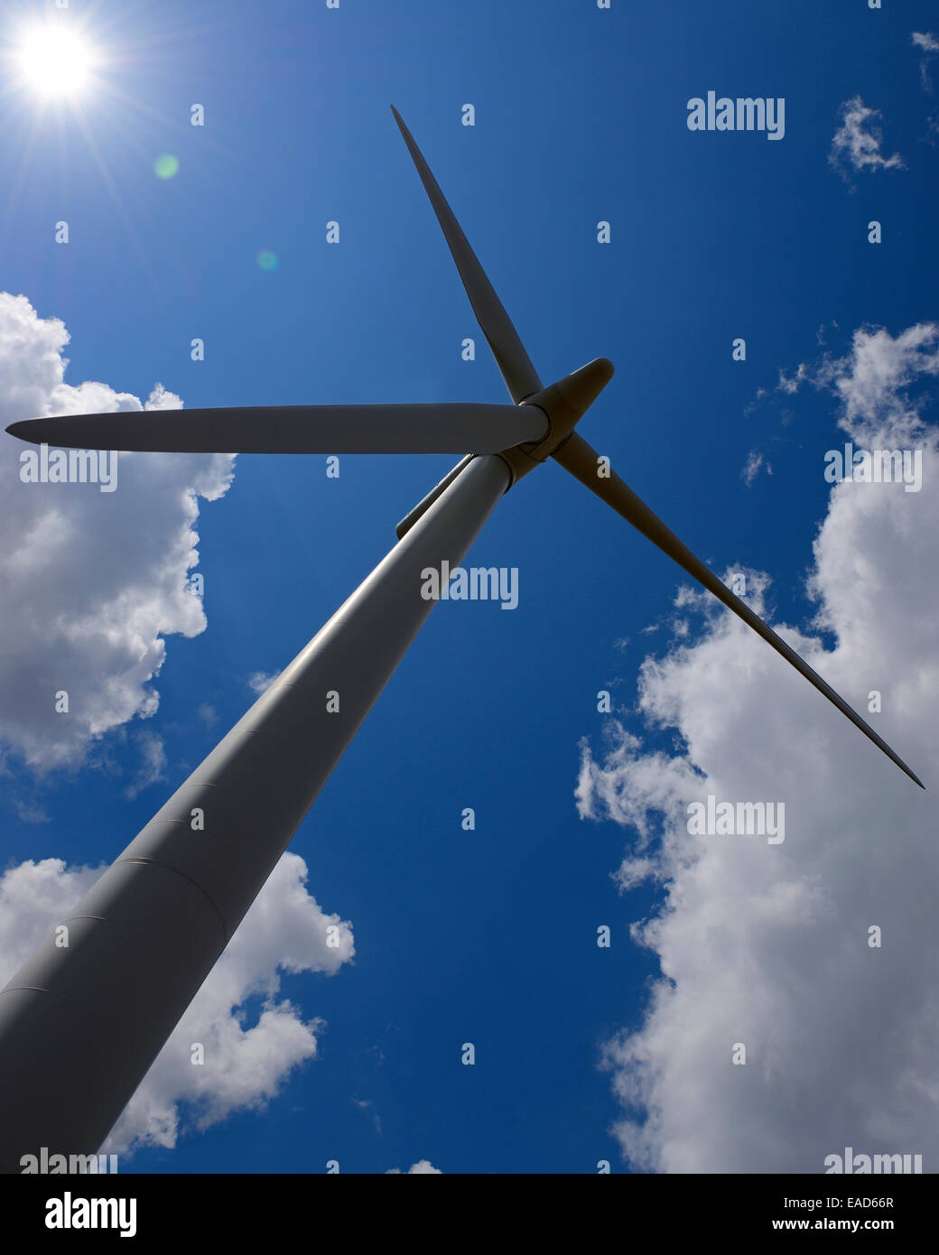 Wind Turbine, Vereinigtes Königreich. Stockbild