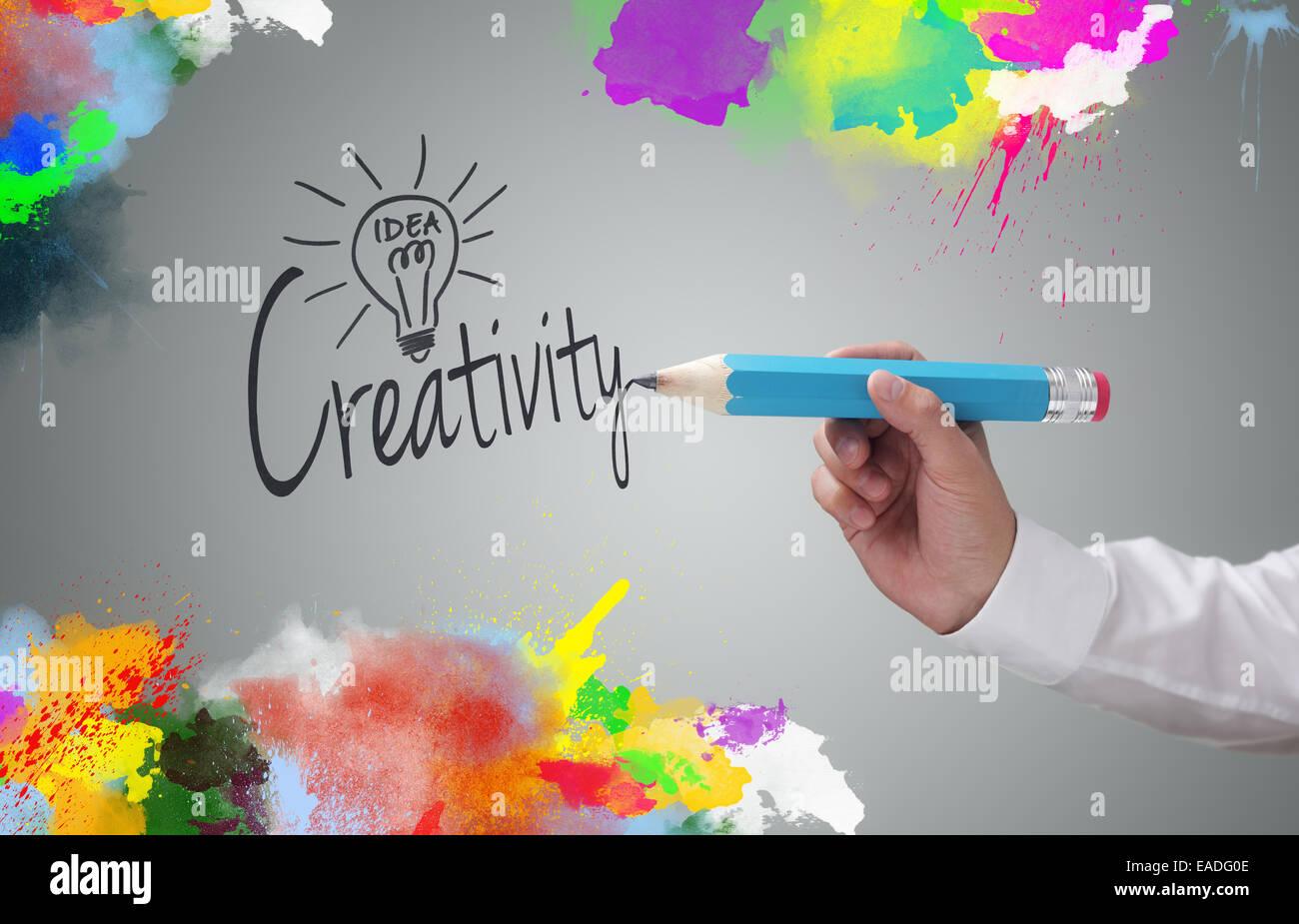 Kreativität Stockbild