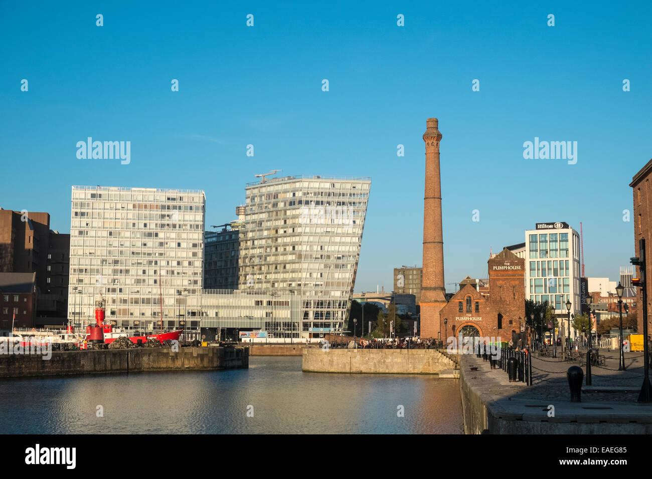 Stadtzentrum Liverpool Stockfotos & Stadtzentrum Liverpool Bilder ...