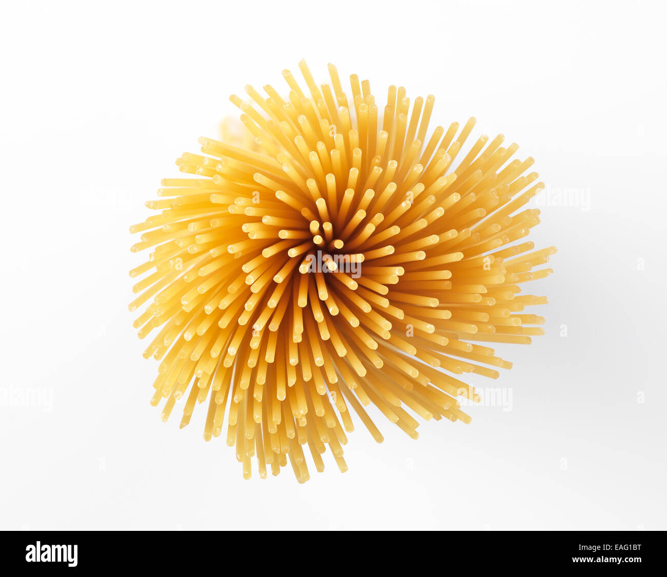 Isolierte Pasta Stockbild