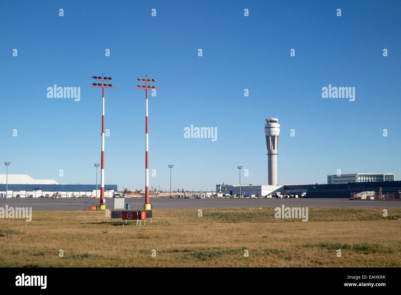 Calgary Flughafen Stockbild
