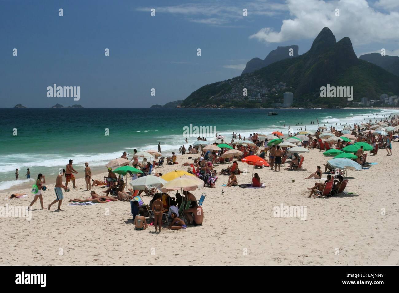 Rio De Janeiro Brasilien 16 November 2014 Das Wetter In Rio Ein