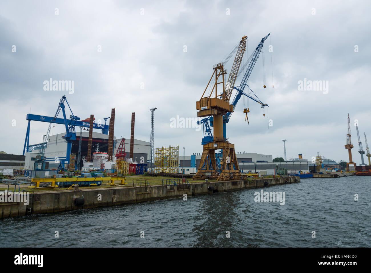 Bauunternehmen Rostock warnow werft ist ein deutscher schiffbauunternehmen die größte