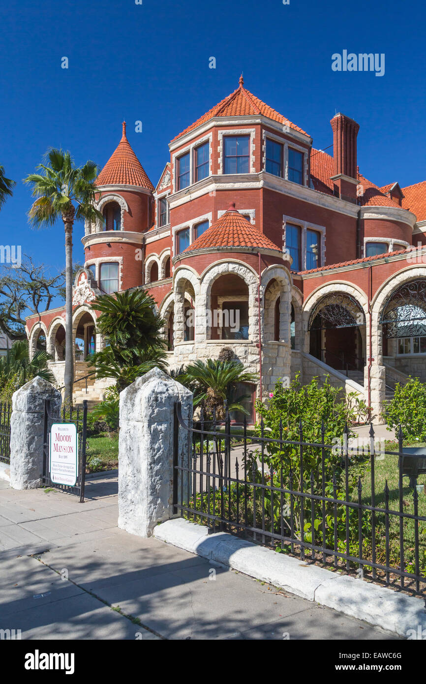 Historic House In Galveston Texas Stockfotos & Historic House In ...