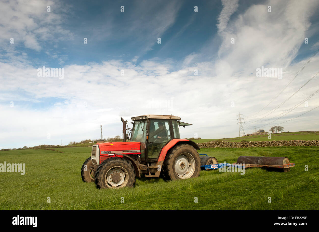 farm agricultural machinery roller stockfotos farm agricultural machinery roller bilder alamy. Black Bedroom Furniture Sets. Home Design Ideas