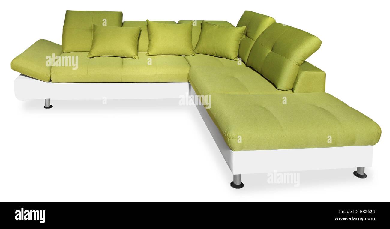 Green Sofa Stockfotos & Green Sofa Bilder - Alamy