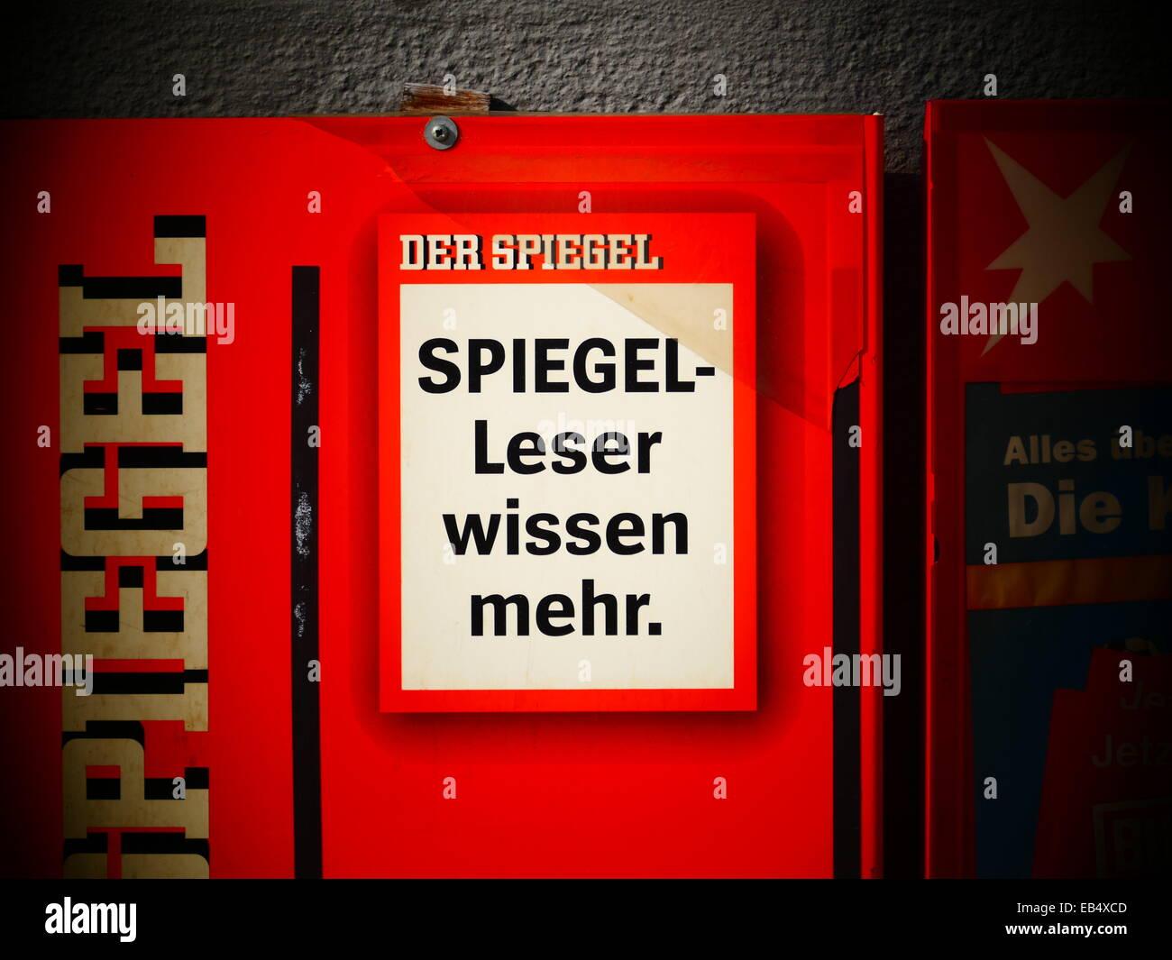 Magazine kiosk stockfotos magazine kiosk bilder alamy for Zeitung der spiegel