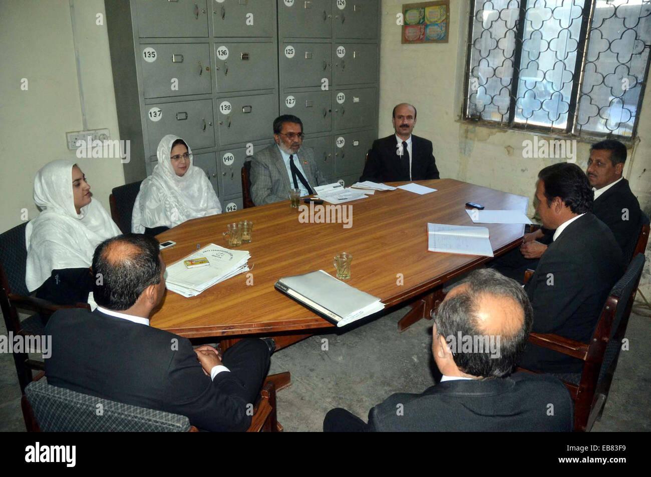 Nationalen Parteiführer, Advocate Malik Samandar Khan Kasi leitet ...