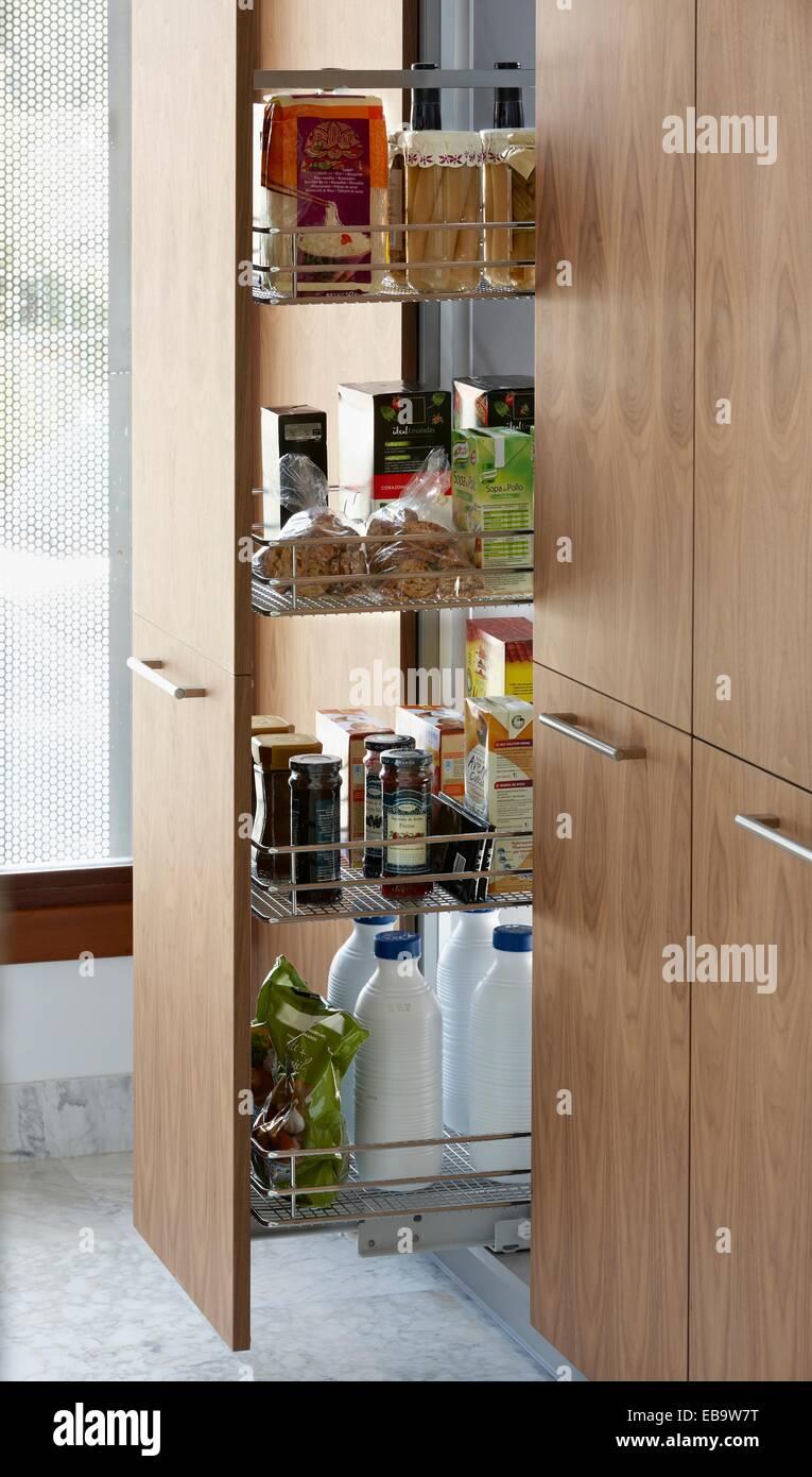 Großzügig Küchenmöbel Speisekammer Schrank Zeitgenössisch - Küche ...