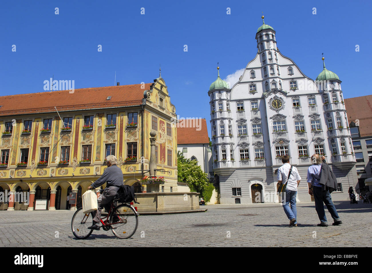 memmingen city geography germany stockfotos memmingen city geography germany bilder alamy. Black Bedroom Furniture Sets. Home Design Ideas