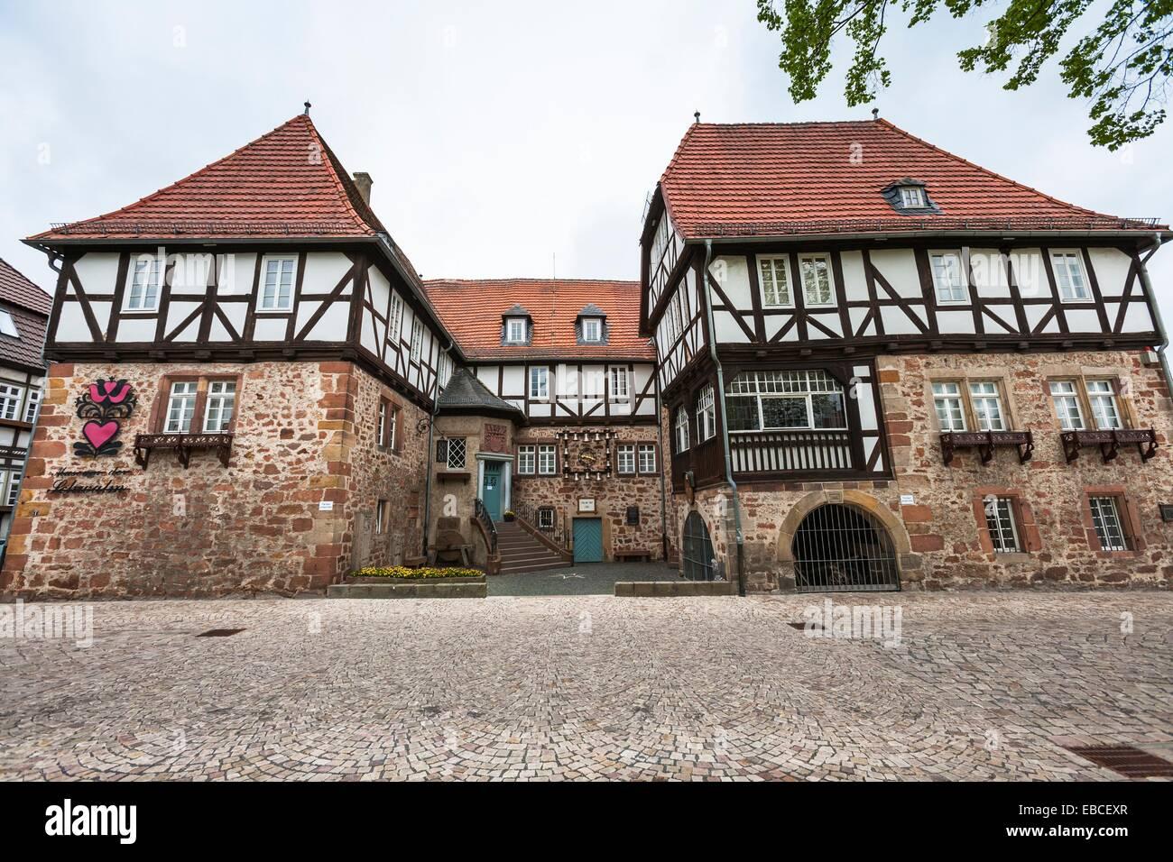 Wasserschloss Burg Ziegenhain Schwalmstadt Hessen