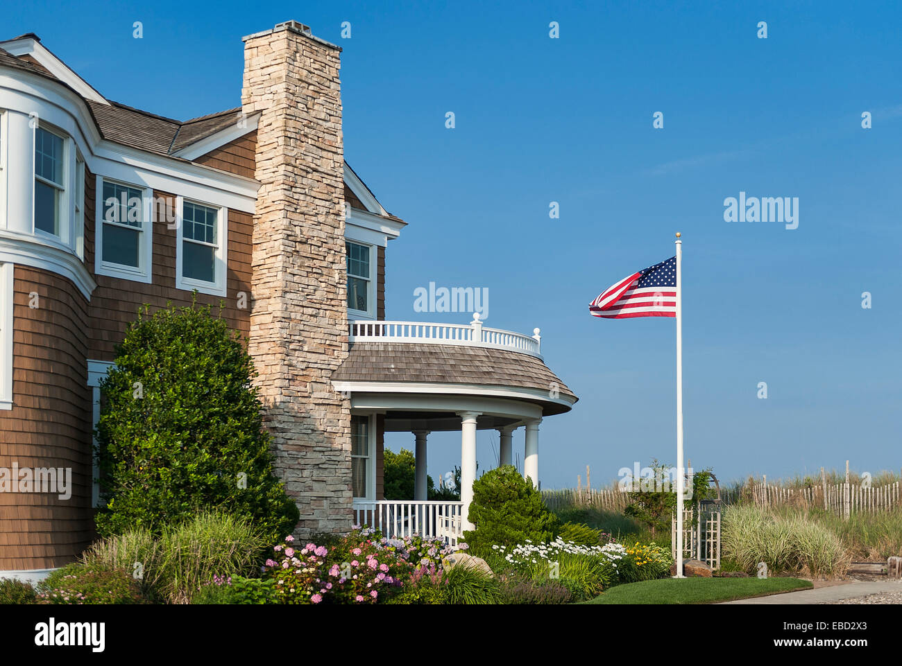 Luxury Beach House, Stone Harbor, New Jersey, USA Stockbild