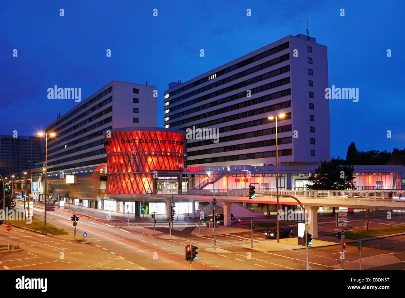Hamburger Meile In Hamburg Mundsburg Deutschland Stockfoto Bild