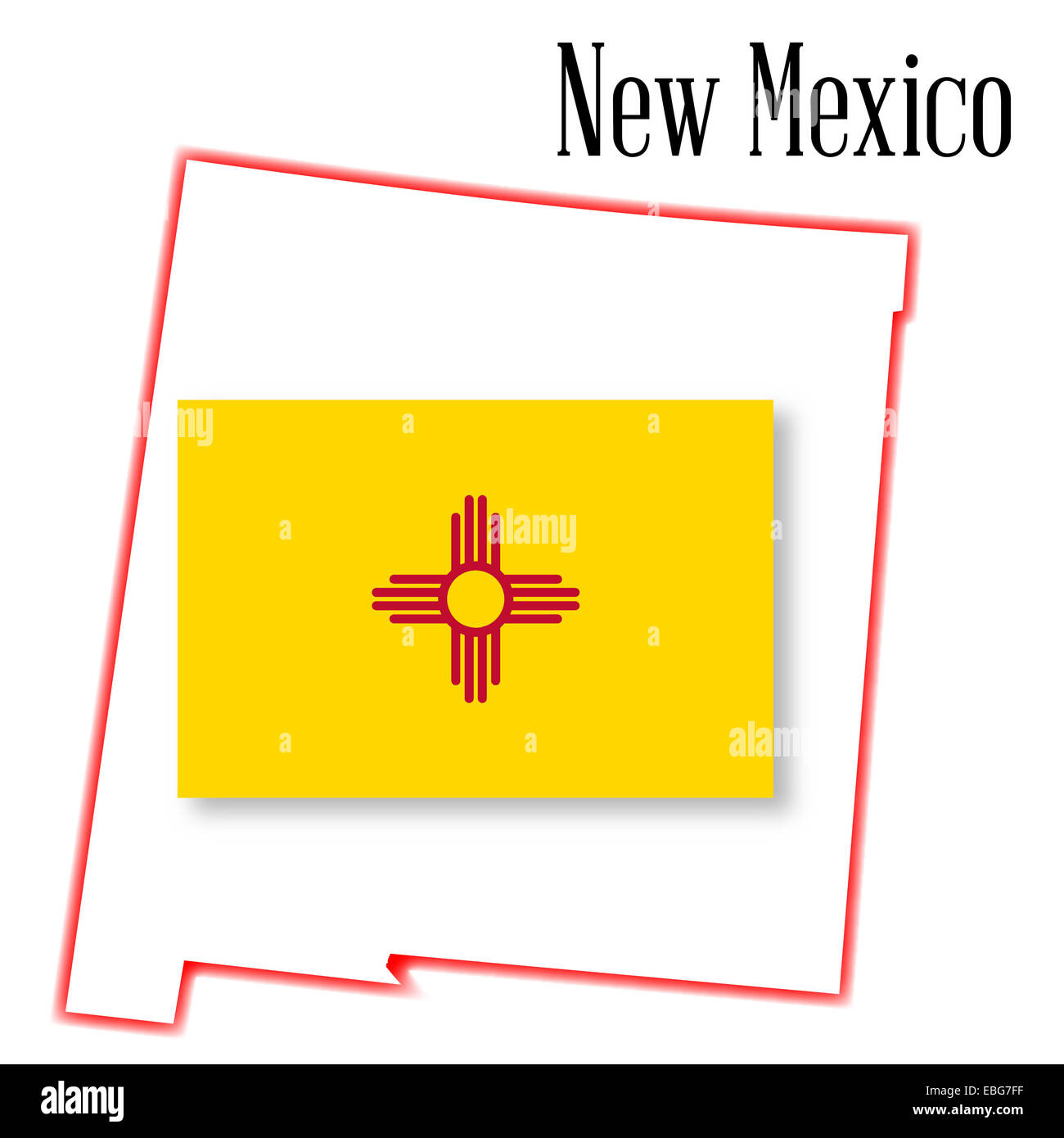 Groß New Mexico Flagge Färbung Seite Galerie - Entry Level Resume ...