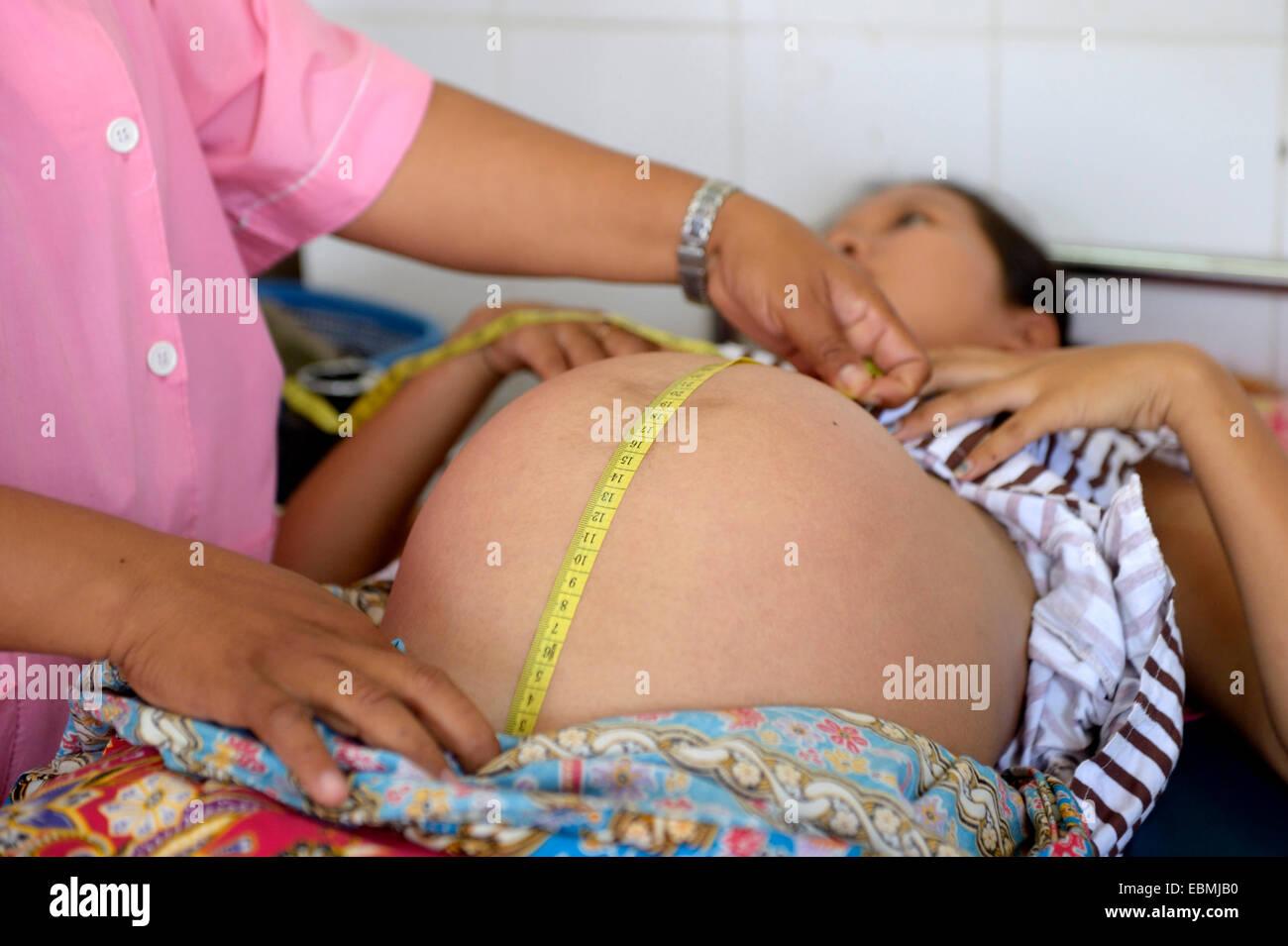 Datierung der Schwangerschaftsprüfung