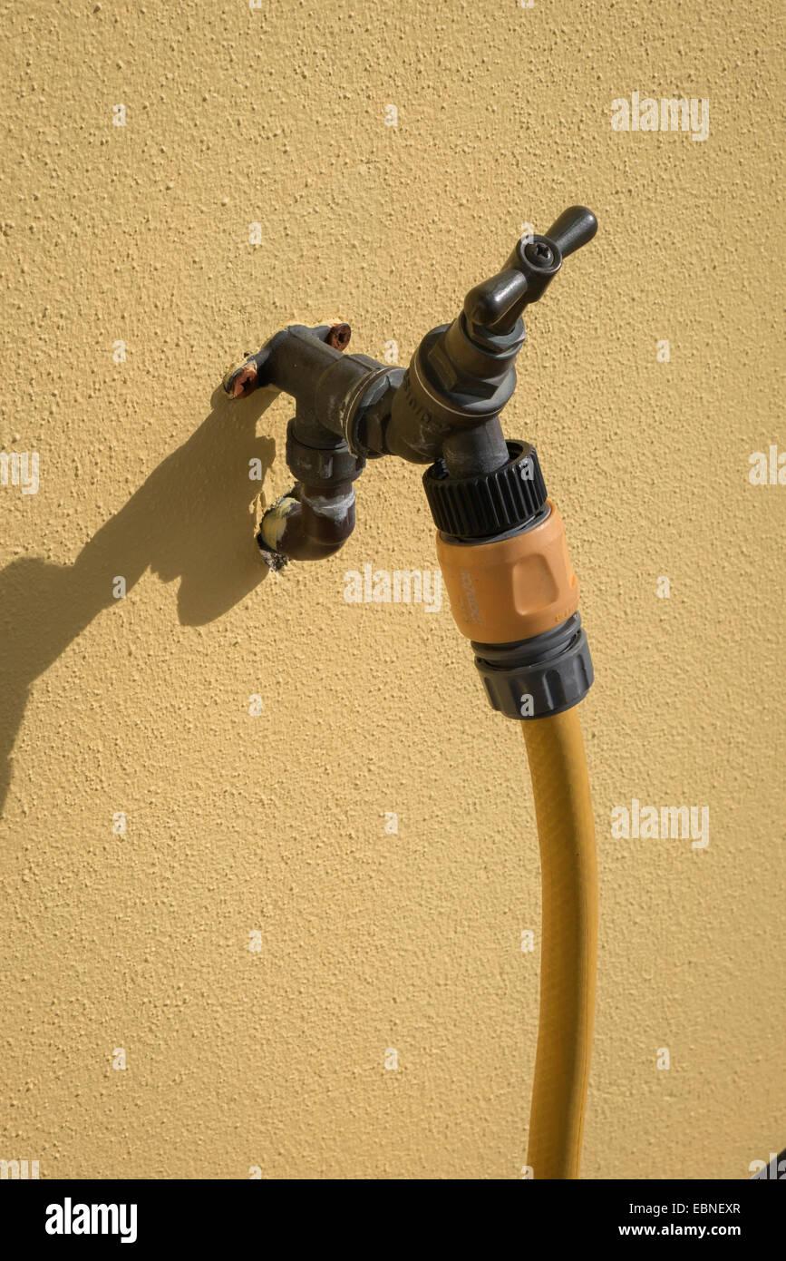 Outdoor Wasserhahn Mit Schlauchanschluss