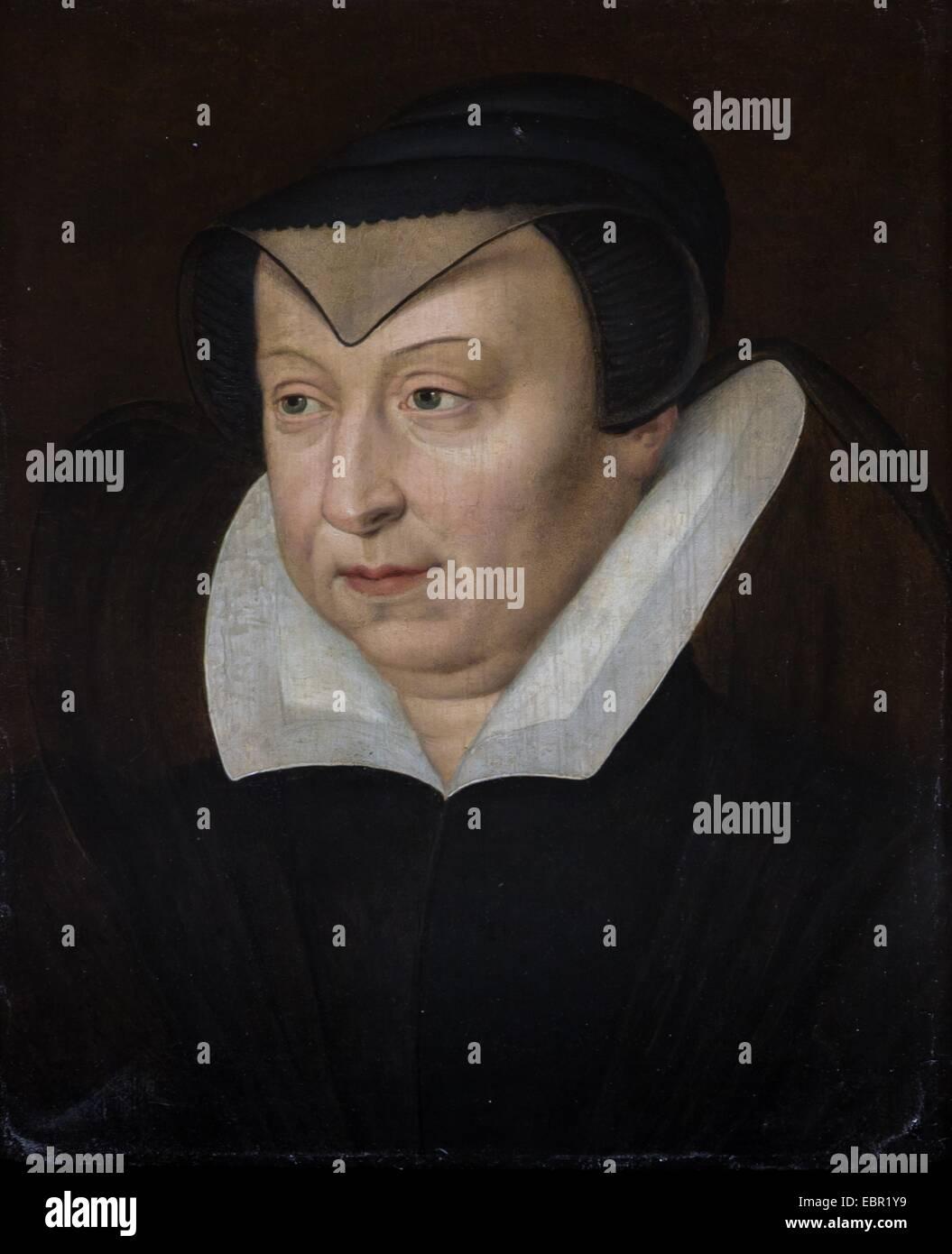 ActiveMuseum_0001915.jpg / Catherine de Medici, Ehefrau von König Henry II., Königin von Frankreich, ca. 1570 26/09/2013 Stockfoto