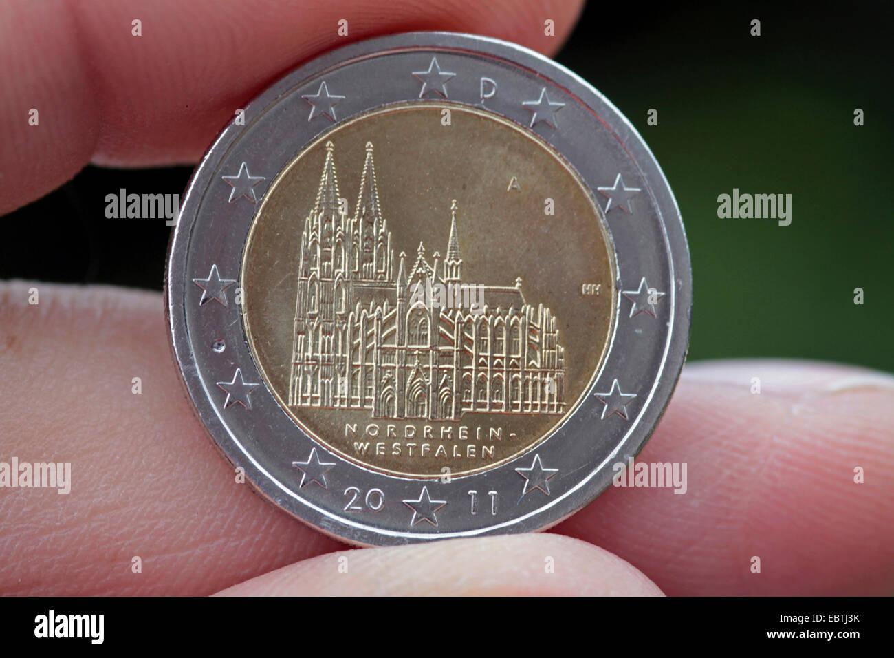 Deutschland Münze Münzen Stockfotos Deutschland Münze Münzen