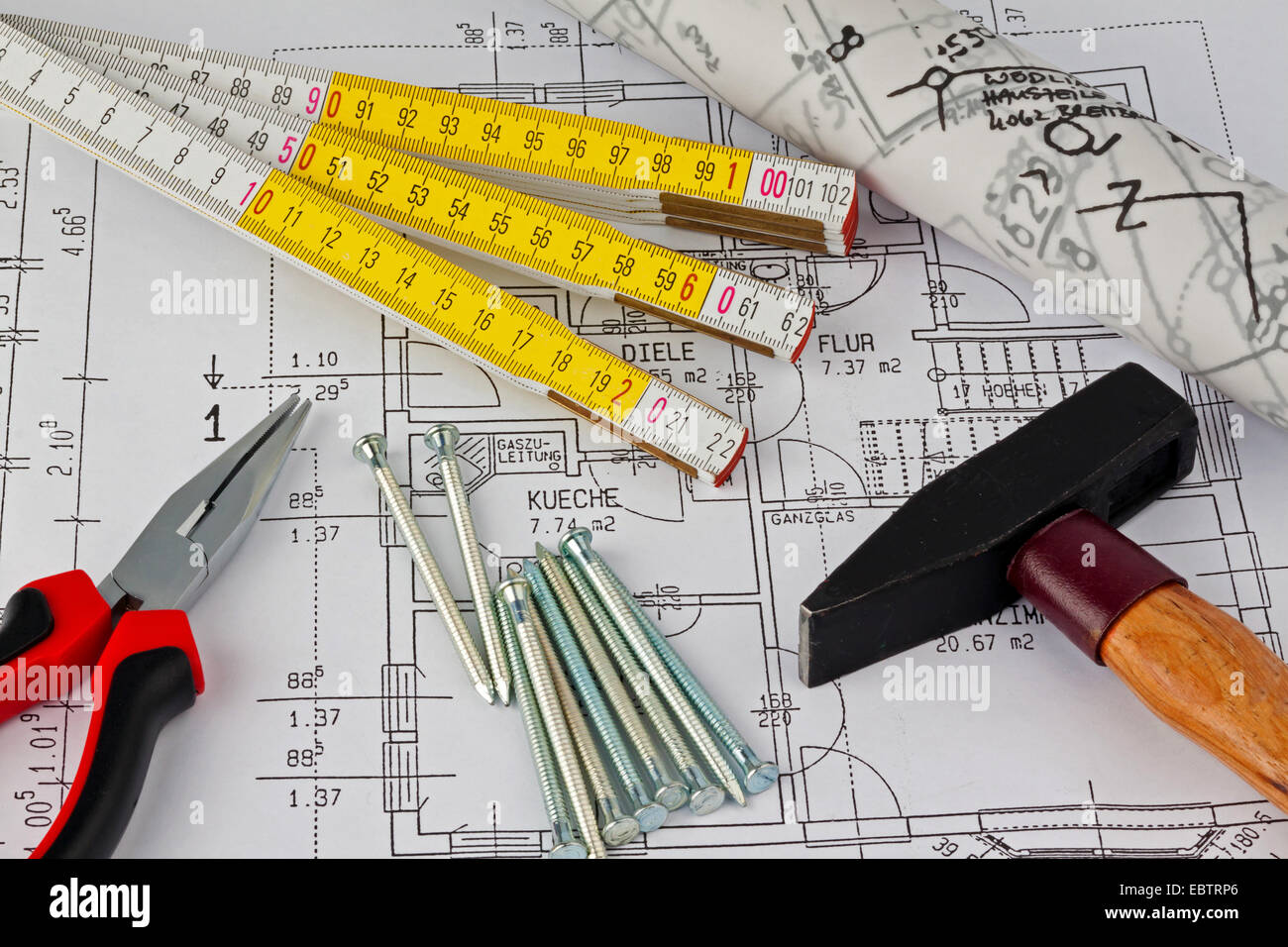 House Hand Drawings Stockfotos & House Hand Drawings Bilder - Alamy
