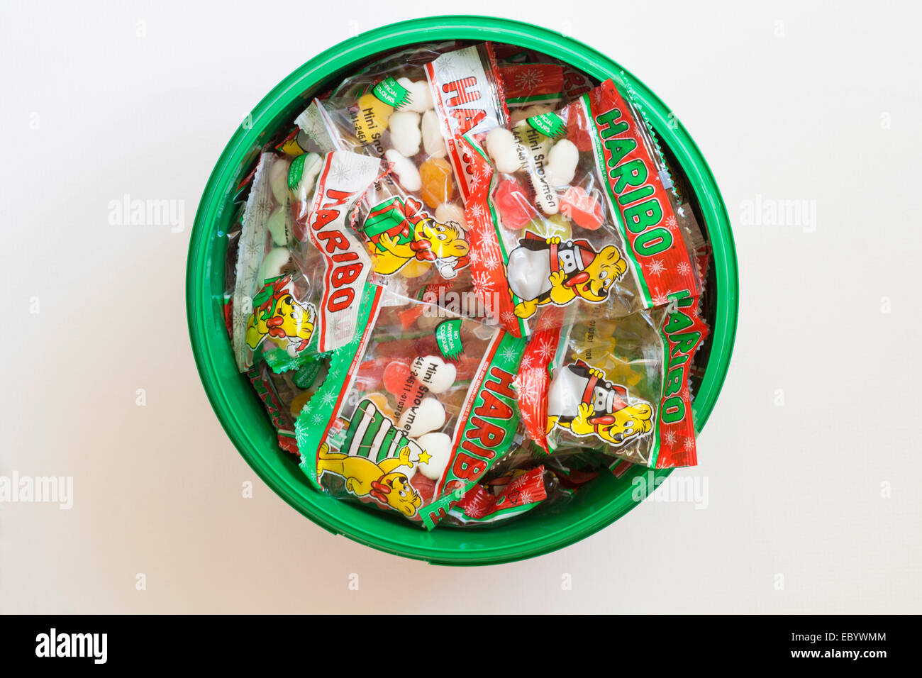 Haribo Weihnachten.Wanne Haribo Weihnachtsauswahl Stockfotos Wanne Haribo