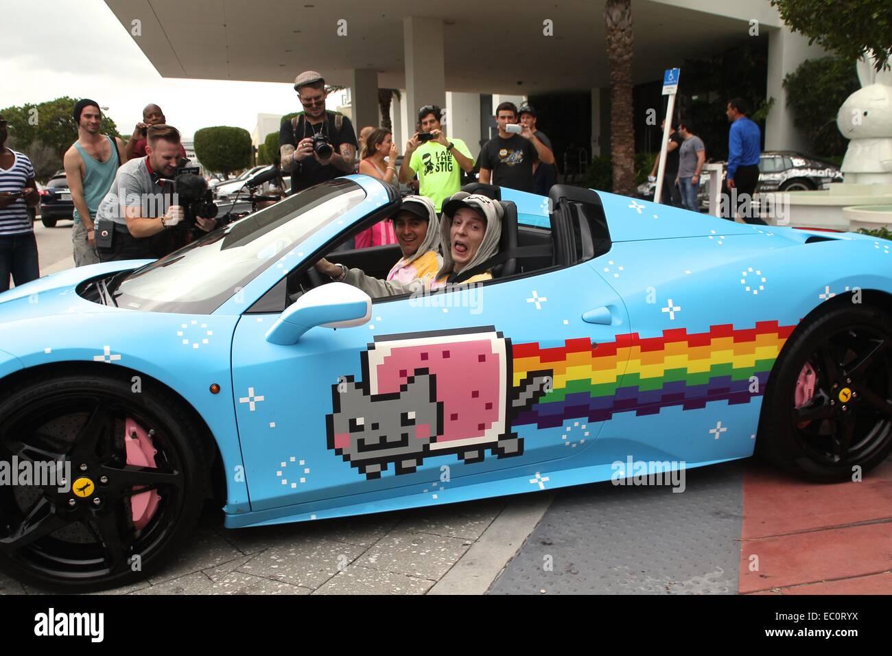 Deadmau5 Aka Joel Zimmerman Ferrari Stockfotos Und Bilder Kaufen Alamy