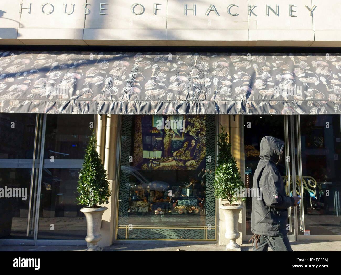 Haus Von Hackney Innenarchitektur Und Möbel Shop, Shoreditch High Street,  London Stockbild