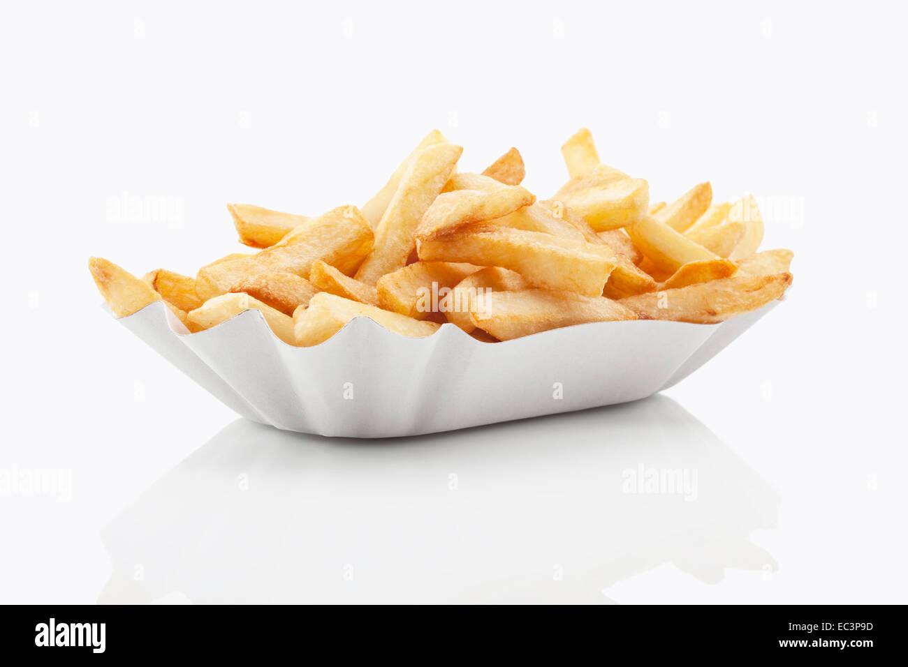 Pommes frittes Stockbild