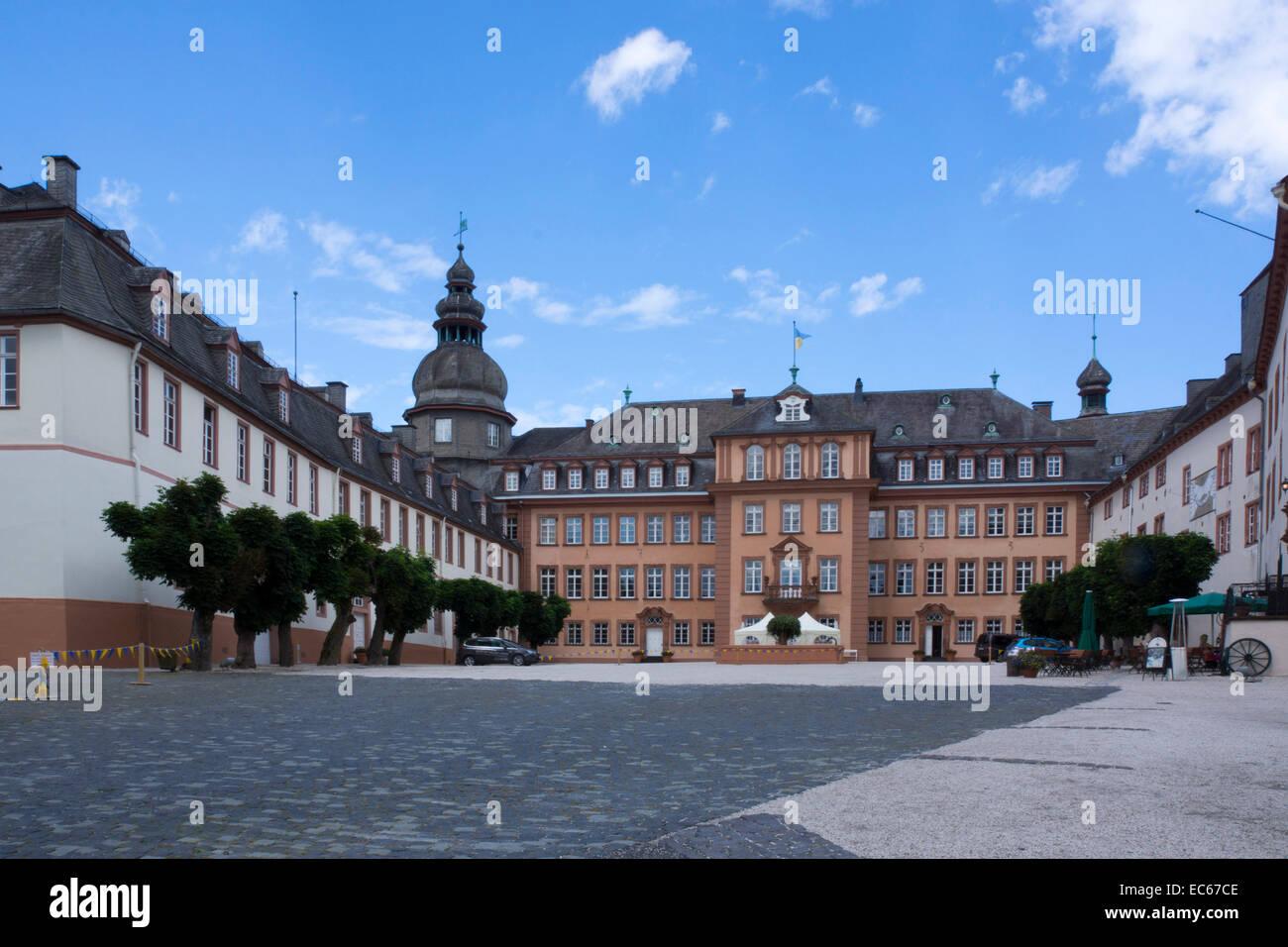 Schloss Berleburg Schloss, Bad Berleburg, Kreis Siegen-Wittgenstein ...