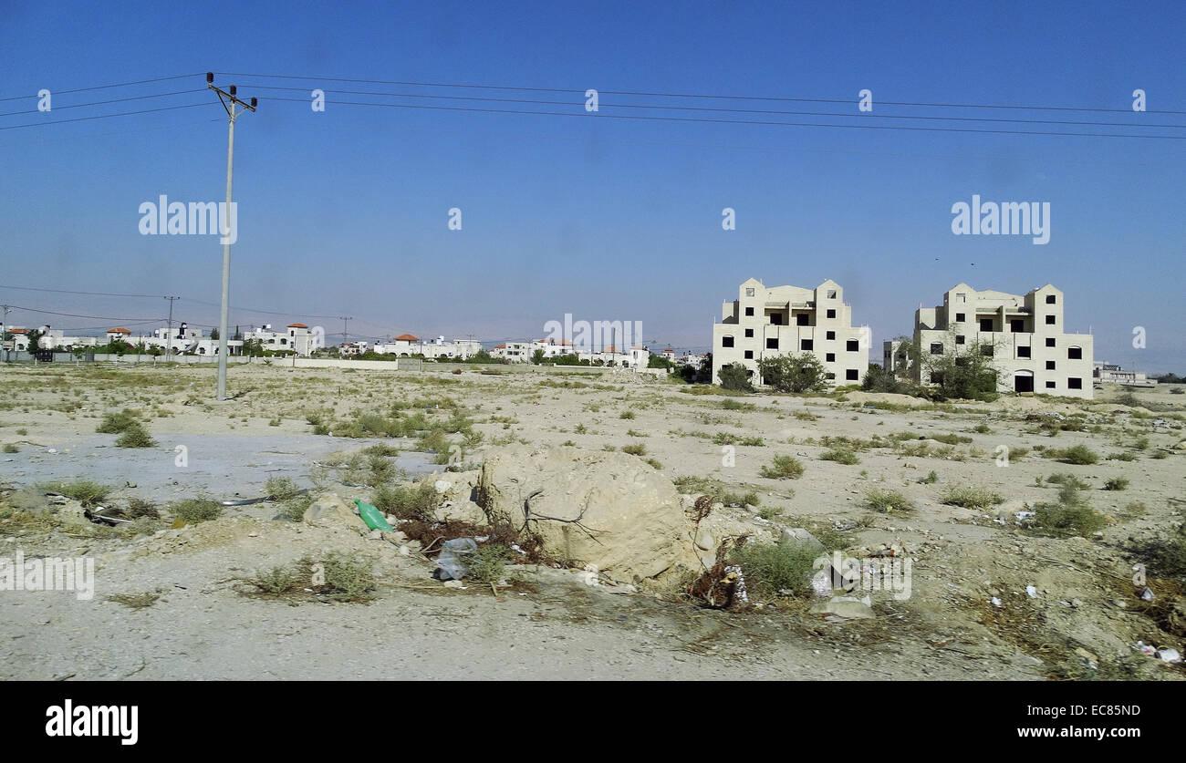 Jericho im Westjordanland; Palästina. Stockbild