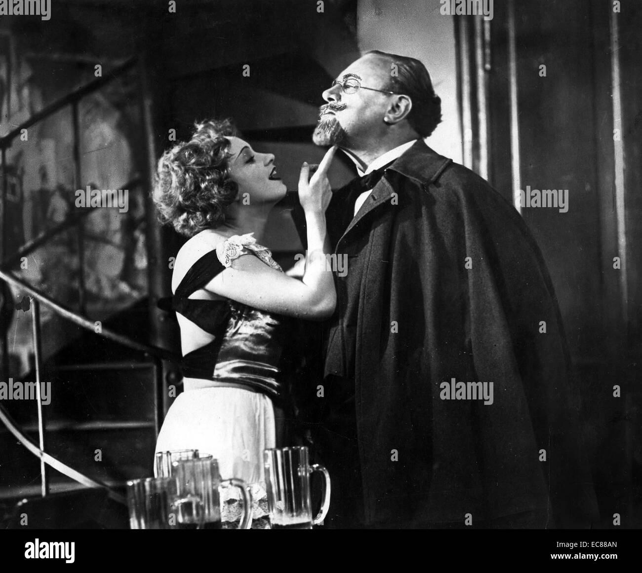 """Noch aus dem Film """"Der Blaue Engel"""" (Der blaue Engel) Deutsche tragi comedic Film unter der Regie von Josef von Stockfoto"""