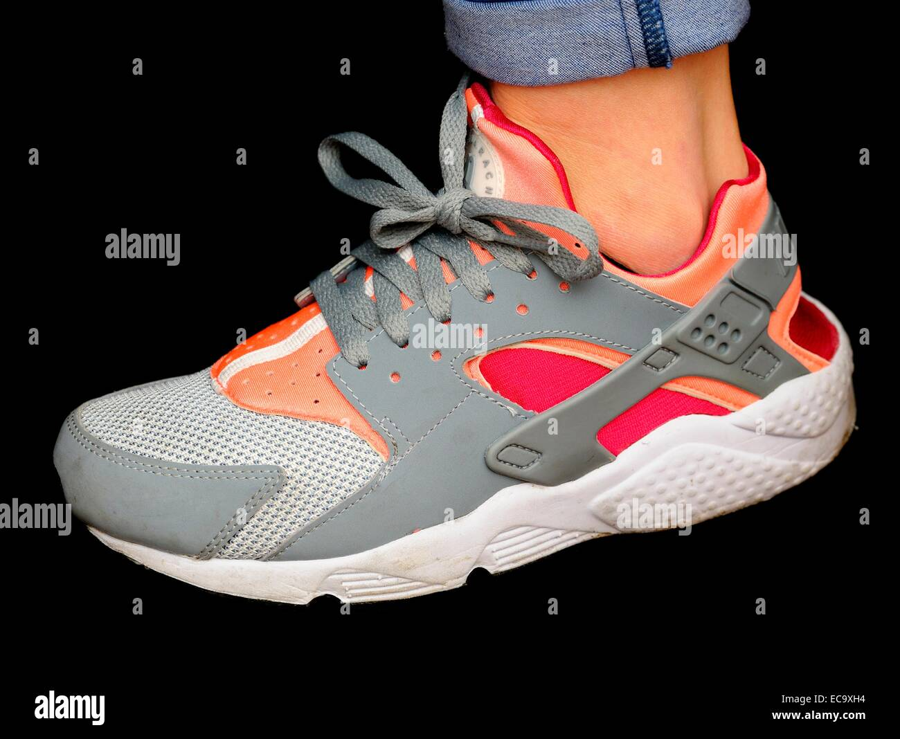 Schwarzer Nike Bilder Stockfotosamp; Alamy Schuh SMpGLUzqV