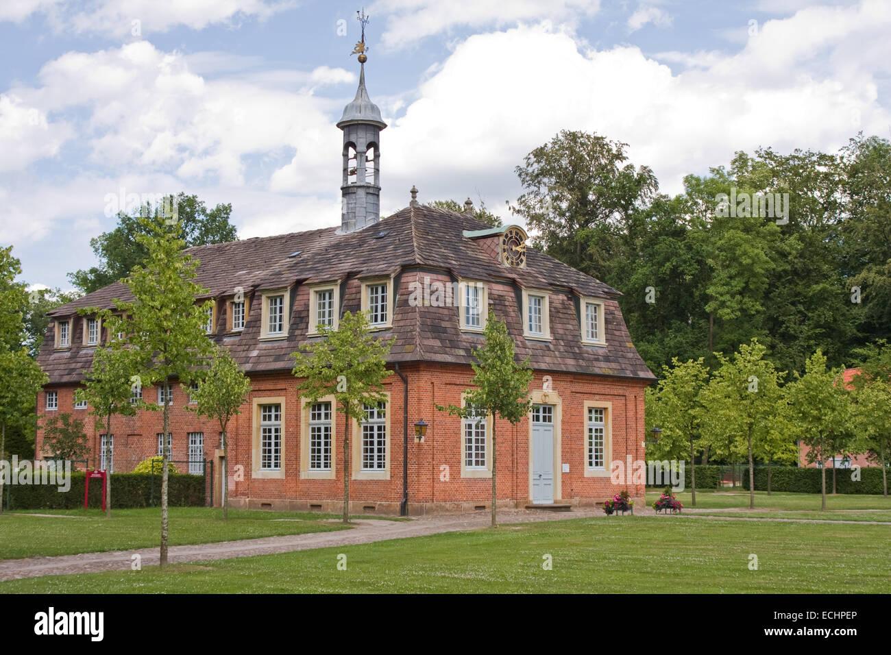 Europa, Deutschland, Niedersachsen, Soegel, Jagdschloss Clemenswerth, älterer Stockbild