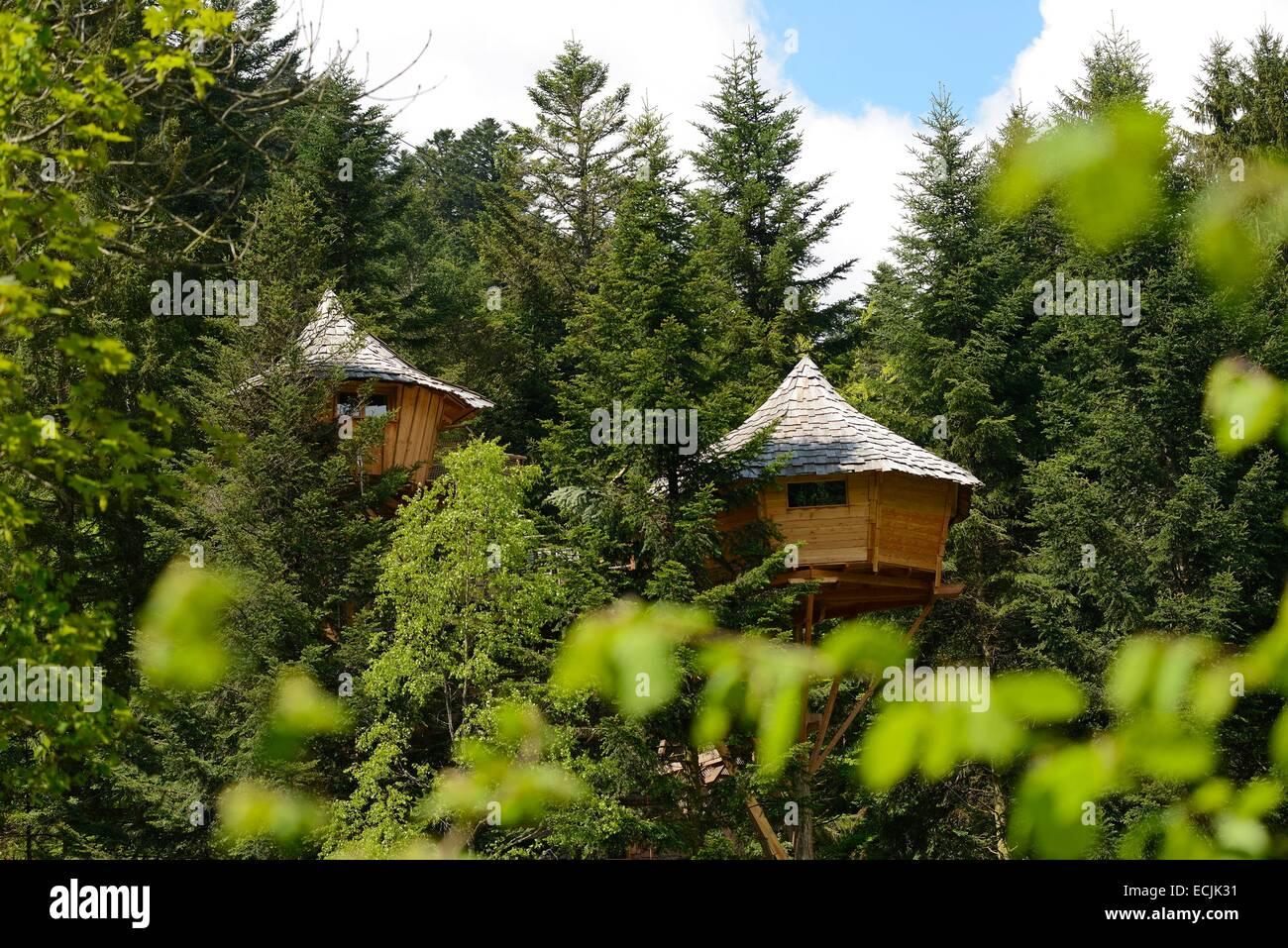 Baumhaus Frankreich frankreich vogesen la bresse outdoor aktivitäten bol d luft