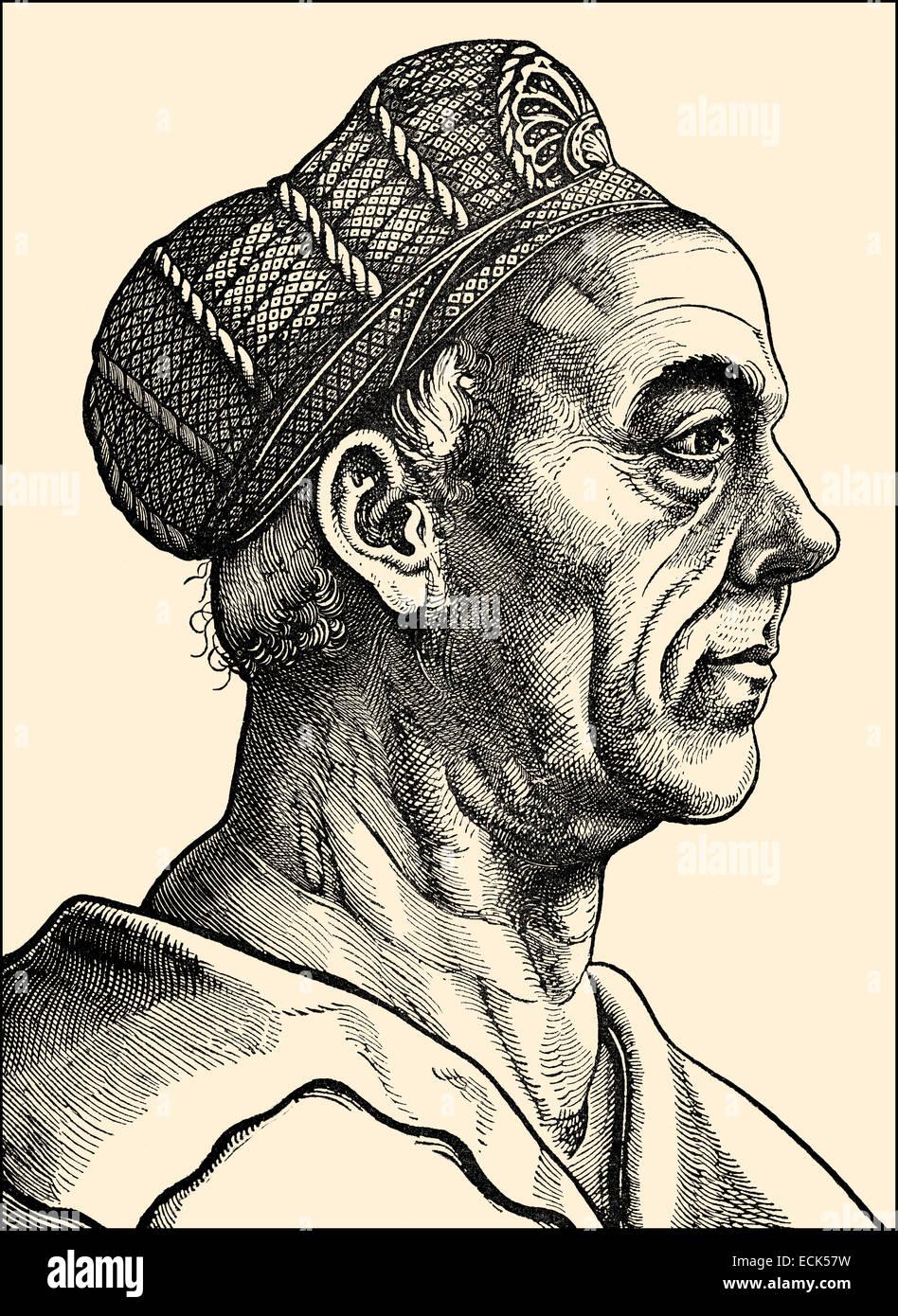 Jakob Fugger, 1459-1525, deutscher Geschäftsmann, Unternehmer und Bankier Jakob Fugger, 1459-1525, Deutscher Stockbild