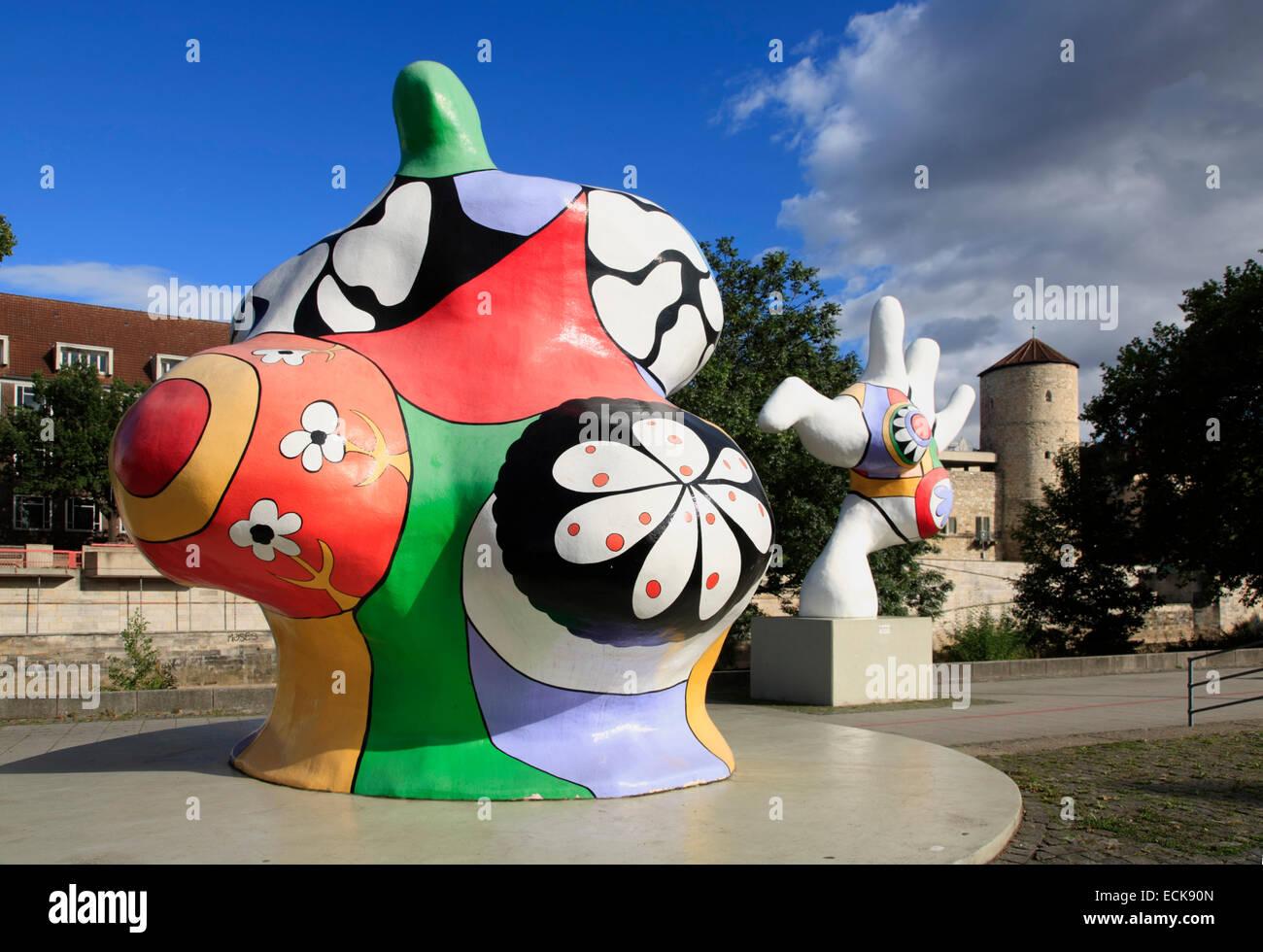 Nanas Street Art Von Niki De Saint Phalle Hannover Niedersachsen