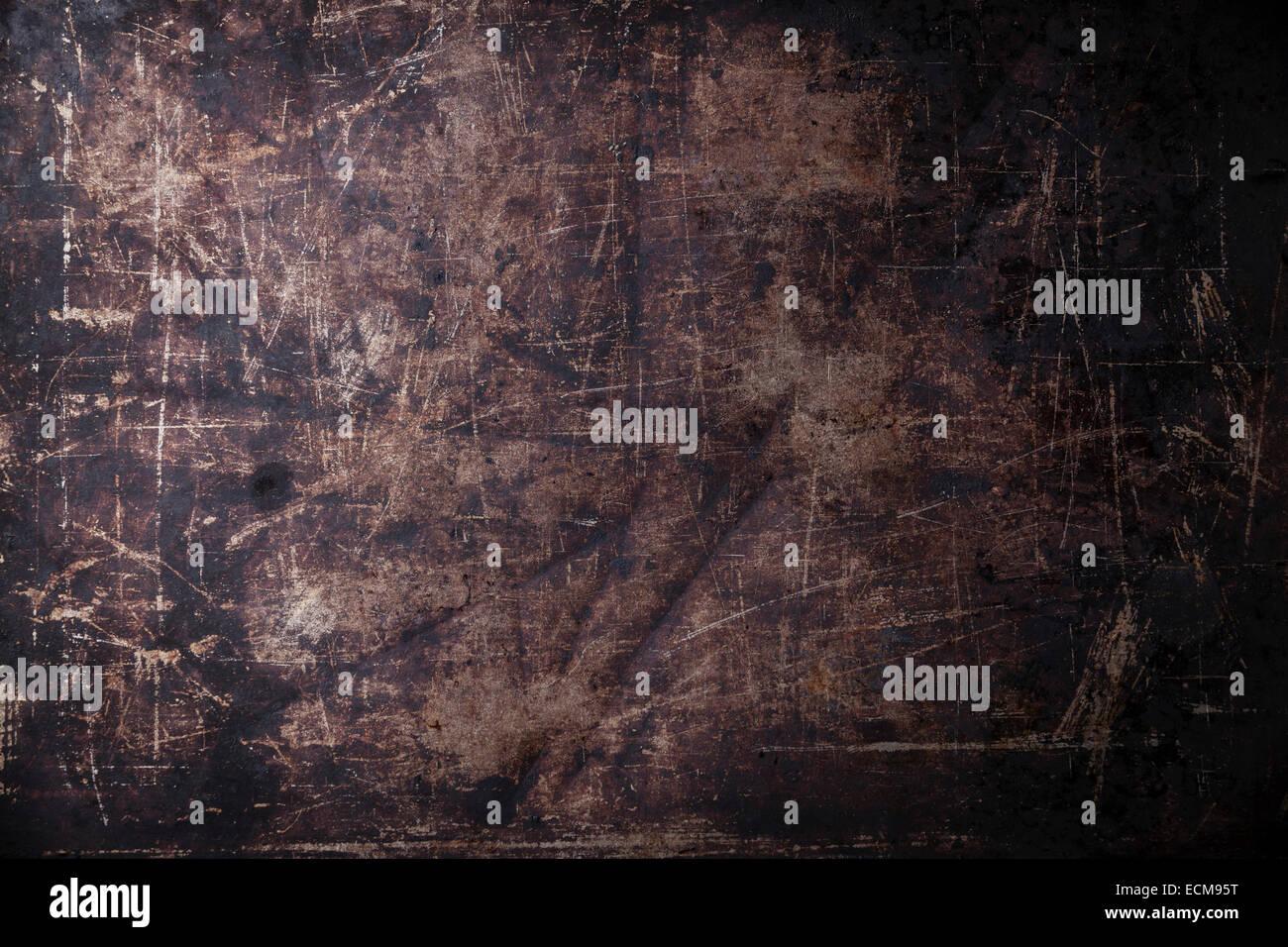 Alte zerkratzt schwarze dunkle Hintergrundtextur Stockbild