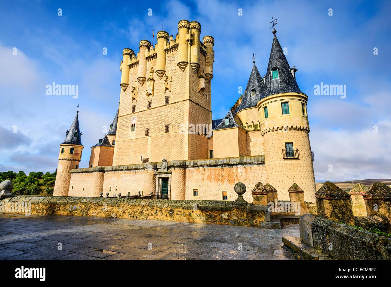 Segovia, Spanien im Alcazar. Stockbild