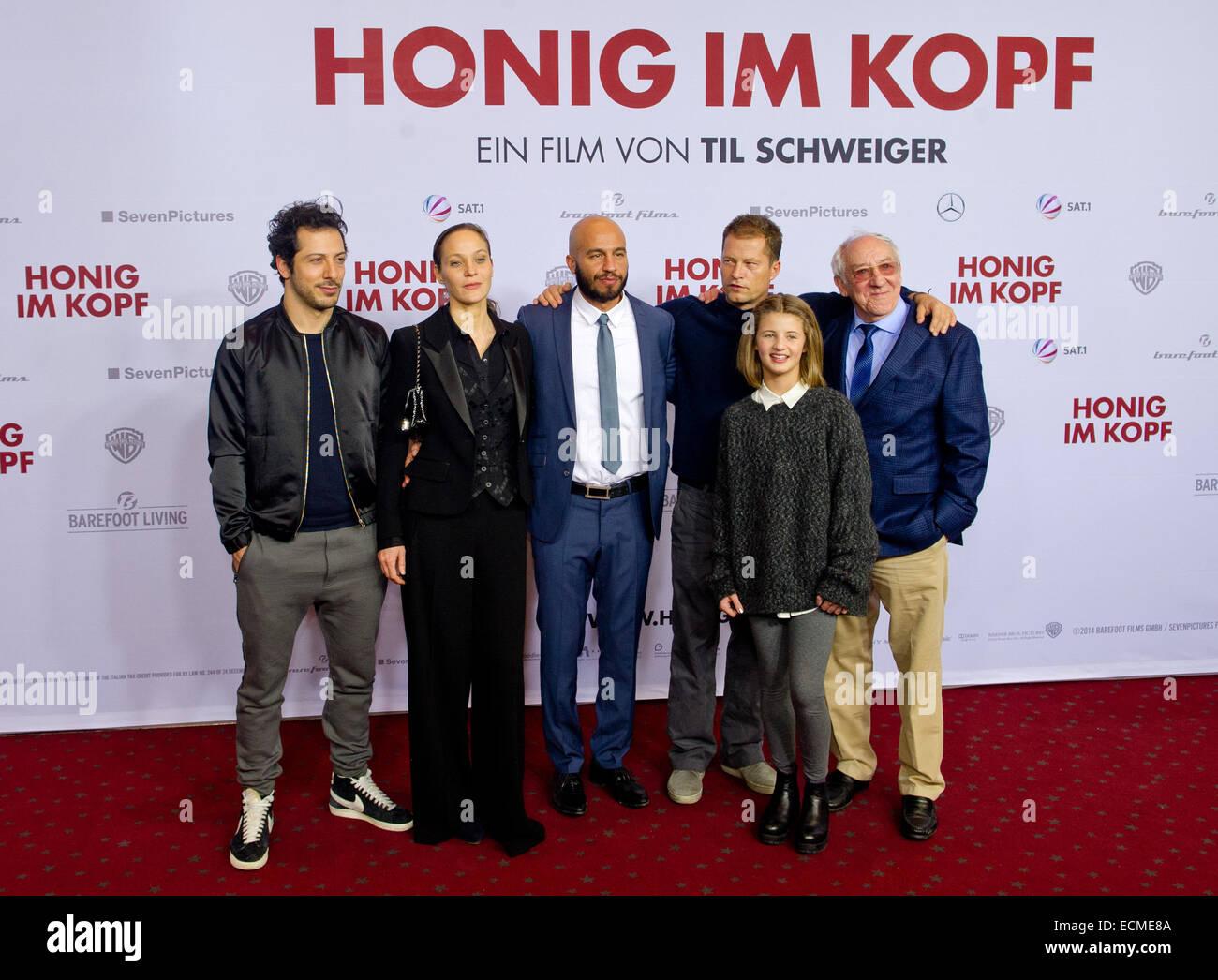 Hamburg Deutschland 16 Dezember 2014 Die Schauspieler Fahri