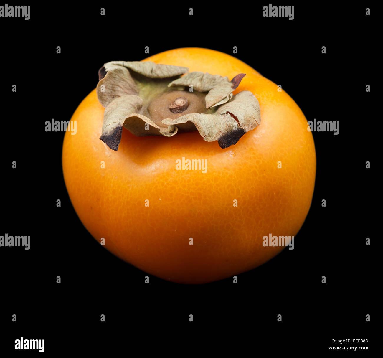 Eine Kaki Früchte Stockbild