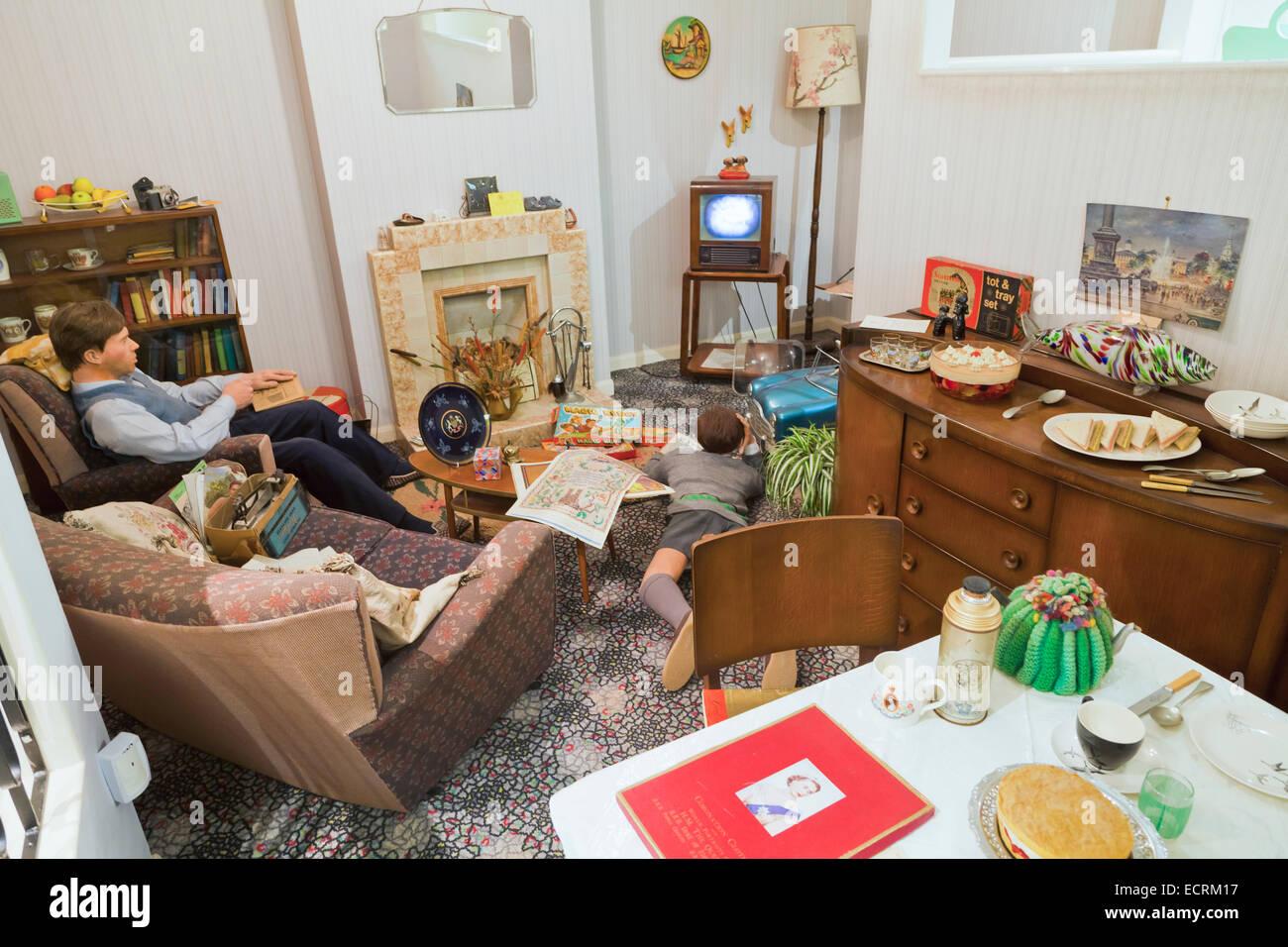 Wohnzimmer Der Sechziger Jahre Stockfotos und -bilder Kaufen - Alamy