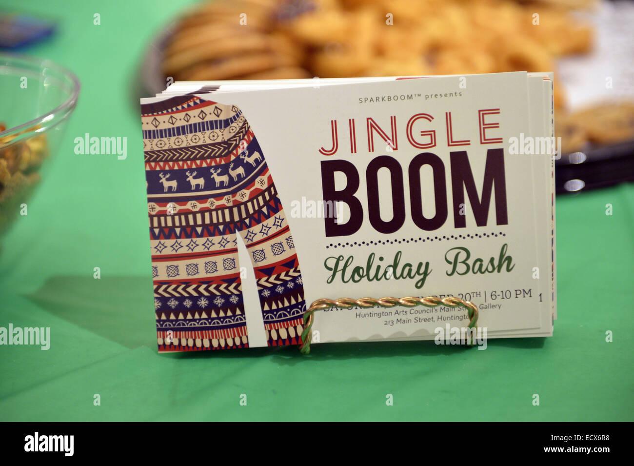 Huntington, New York, USA. 20. Dezember 2014. Die festliche Jingle ...