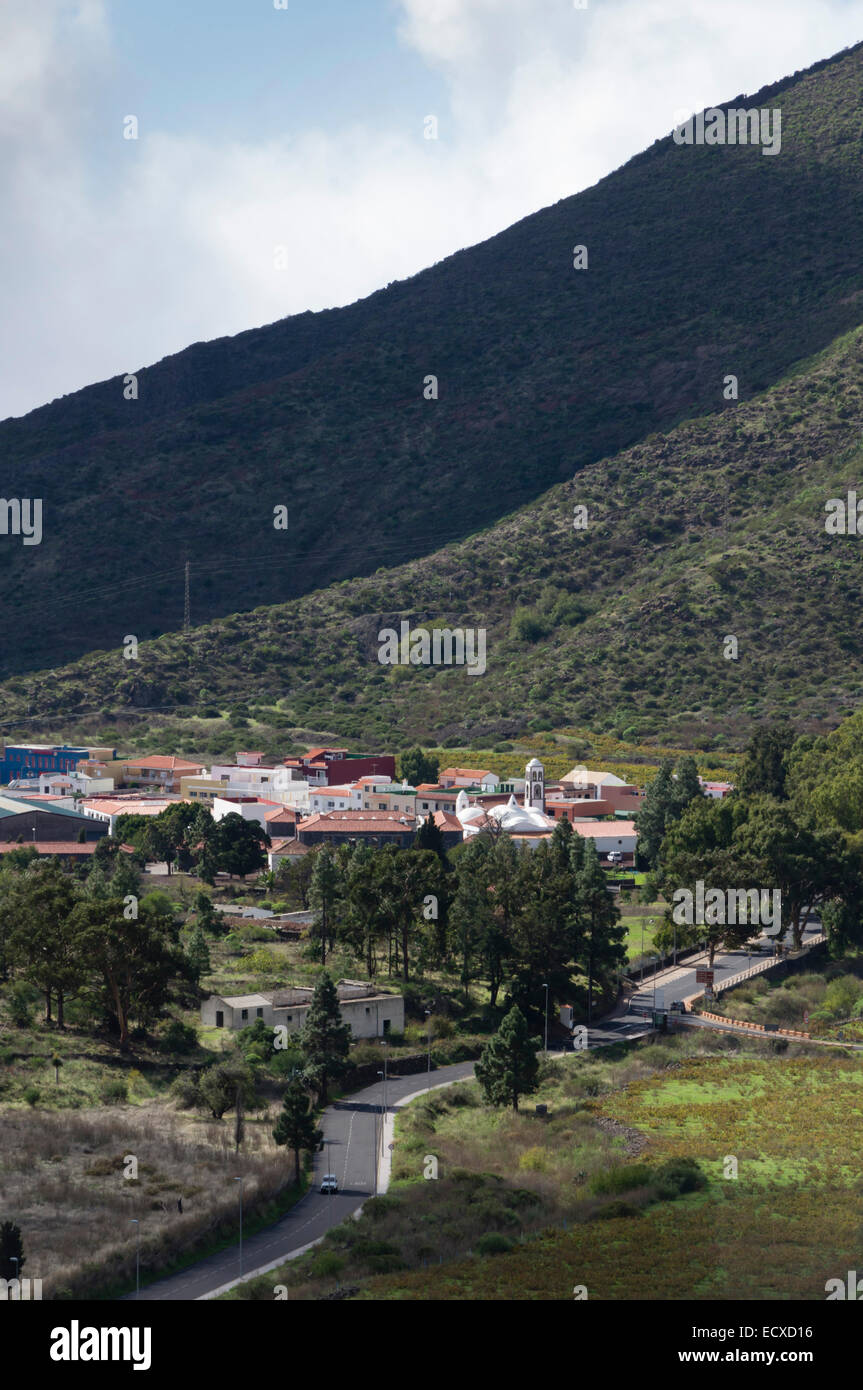 Teneriffa - Santiago del Teide. Stockbild