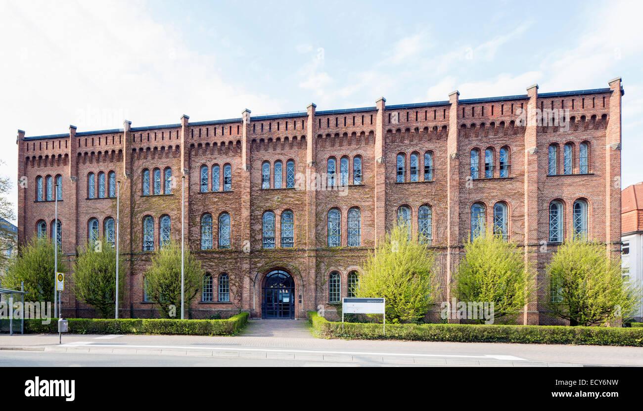 Hauptgebäude des Fachbereichs Architektur, Jade Hochschule, Oldenburg, Niedersachsen, Deutschland Stockbild