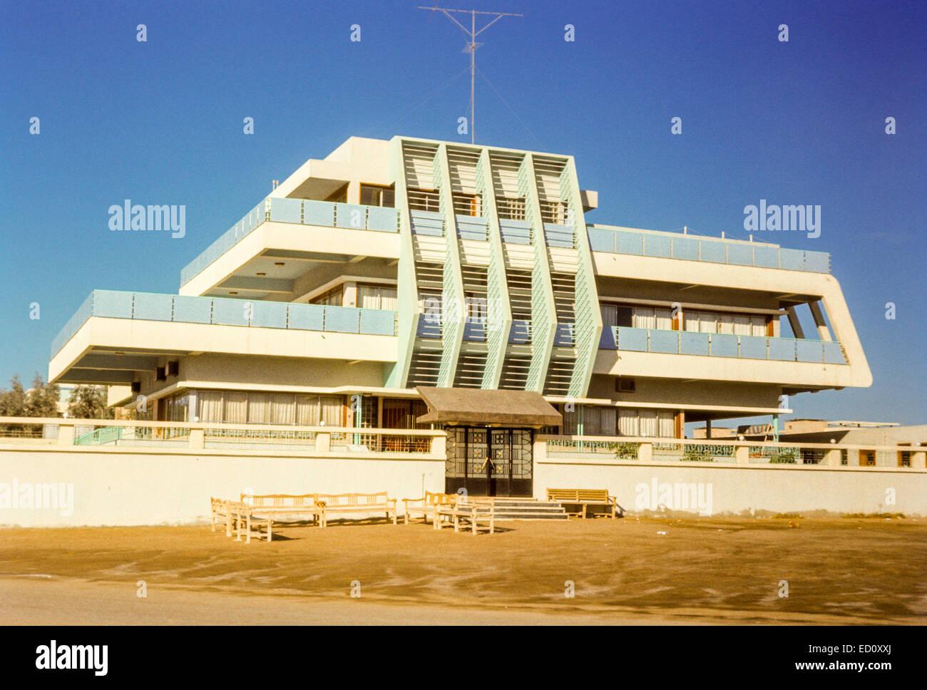 Modernes Haus, Architektur Aus Der Mitte Der 1960er Jahre.