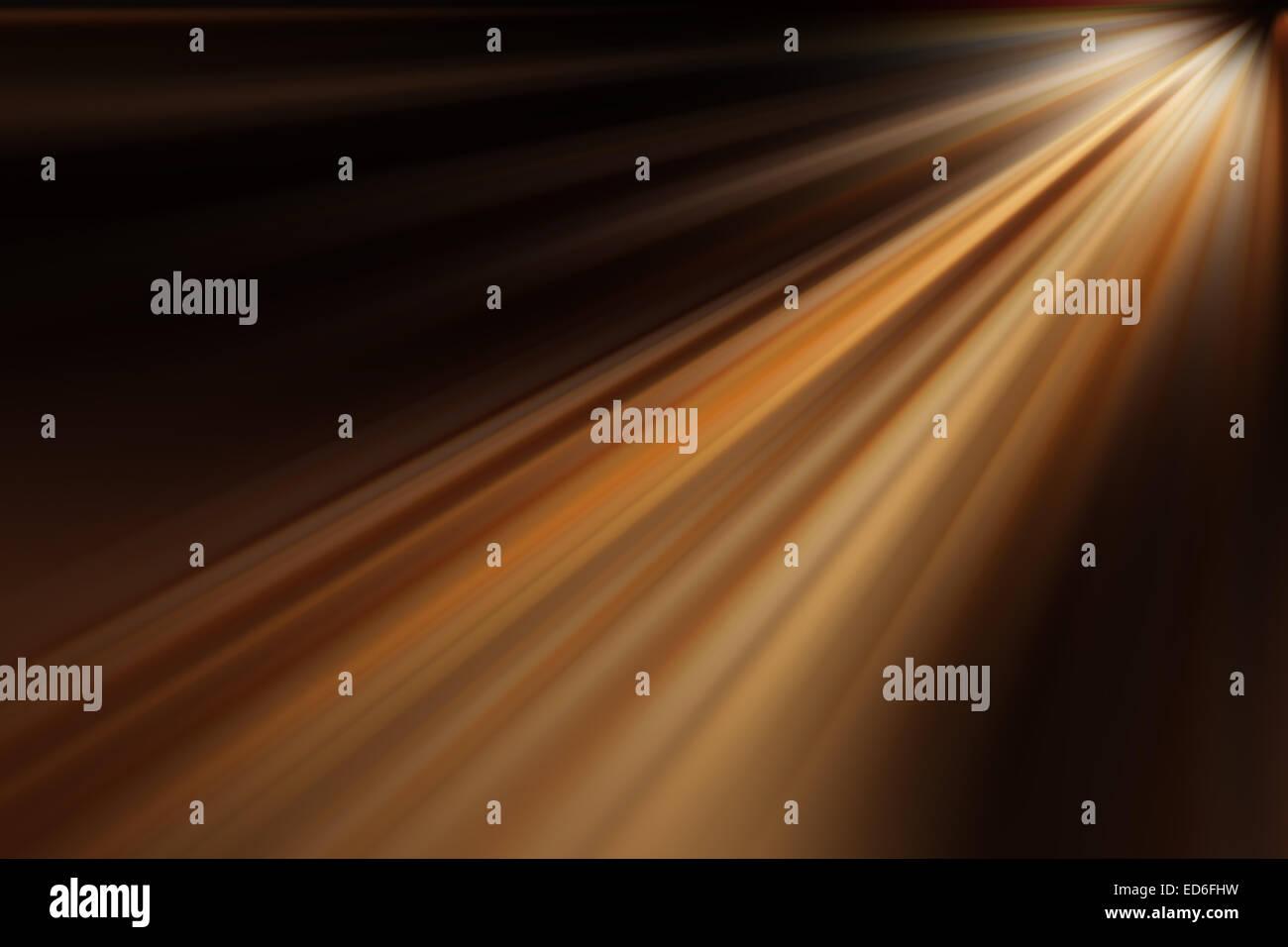 Lichtstrahlen Hintergrund, abstrakt, leichte Textur Stockbild