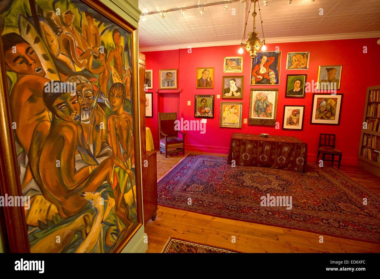 Irma Stern Museum, Kapstadt Stockbild