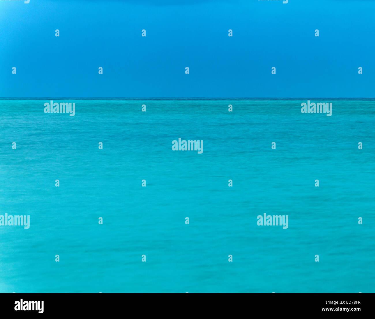 Seascape, Abaco, bahamas Stockbild