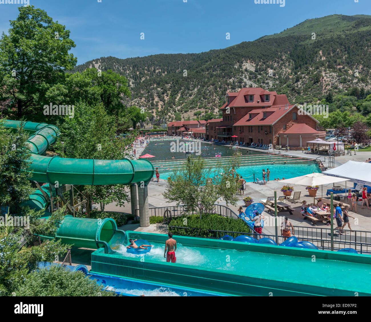 Glenwood Hot Springs Lodge Und Pool In Glenwood Springs Colorado