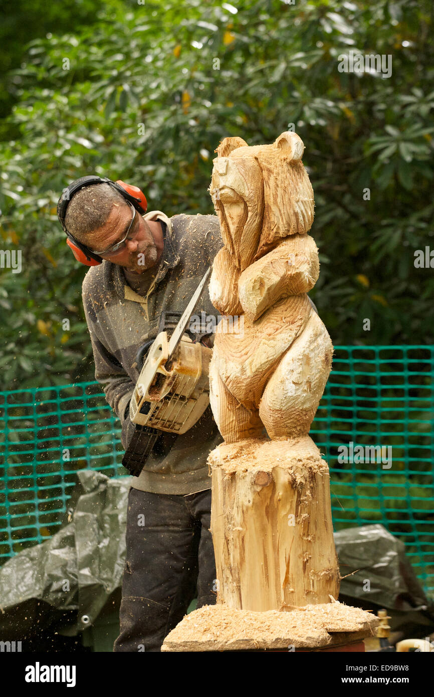 Chainsaw Carving The Art And Craft